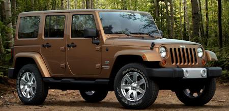 Jeep Wrangler 70th sondermodell
