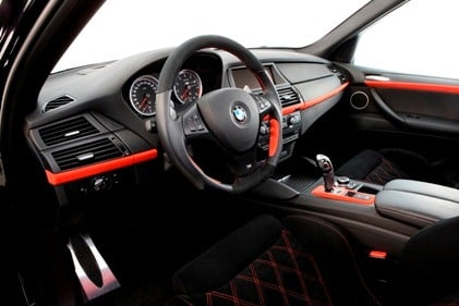 G-POWER X6 M TYPHOON - Interior