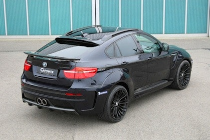 G-POWER X6 M TYPHOON - rear