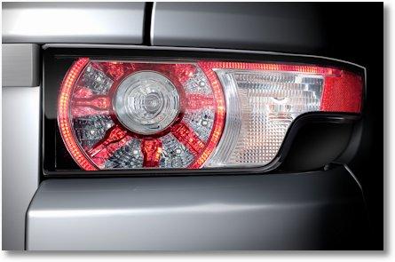 Evoque Range Rover Licht