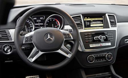 Mercedes ML-Klasse Innenraum