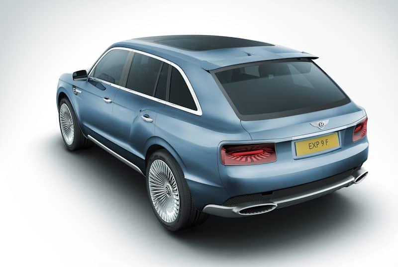 Bentley Konzept SUV EXP 9 F_2