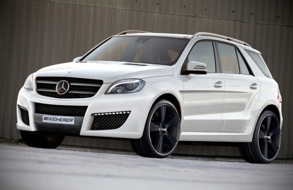 "KICHERER ML IMPACT Front 2012 600x390 Tuning: Mercedes Benz ML ""IMPACT"""