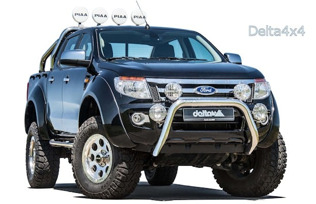 ford ranger kentros pick up monster von delta4x4 4x4news. Black Bedroom Furniture Sets. Home Design Ideas