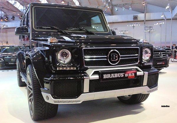 Brabus B63 Mercedes G63 AMG