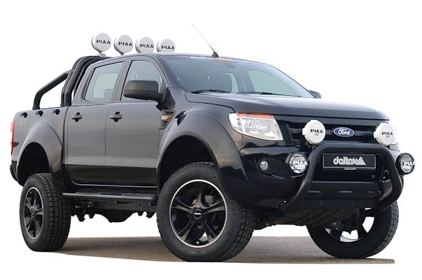 ford ranger als pick up monster black beast 4x4news. Black Bedroom Furniture Sets. Home Design Ideas