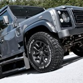 Land Rover Defender Kahn Tuning 1 165x165 Der Chelsea wide track Military grey Defender