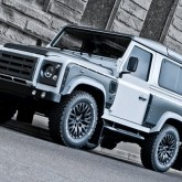 Land Rover Defender Tuning Off Road 1 165x165 Rauhe Schale, weicher Kern. Off Road Kult Geländewagen Land Rover Defender by A. Kahn Design