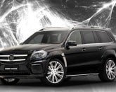 Mercedes ML 63 AMG Brabus Tuning