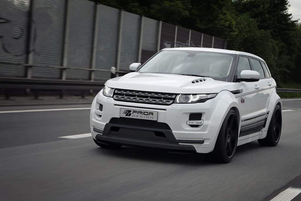 Range Rover Evoque SUV Tuning Zubehoer