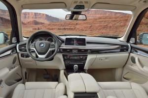 Neuer BMW X5 Innenraum