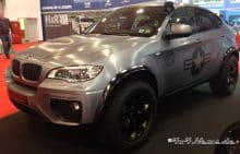 BMW X6 Tuning Folierung