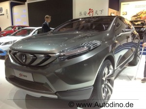 China SUV Changan CS95