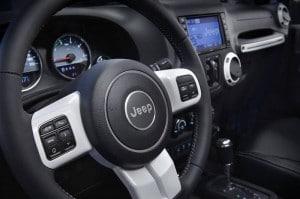 Jeep Wrangler Polar Innenraum