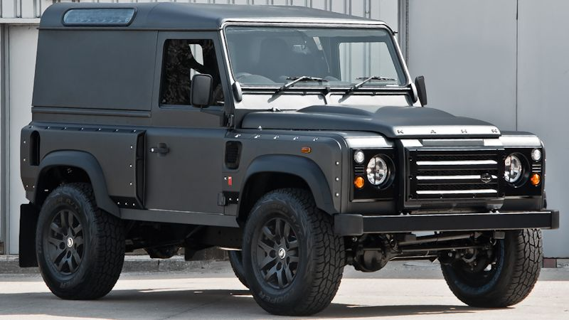 land rover defender umbau mal ganz anders 4x4news home. Black Bedroom Furniture Sets. Home Design Ideas