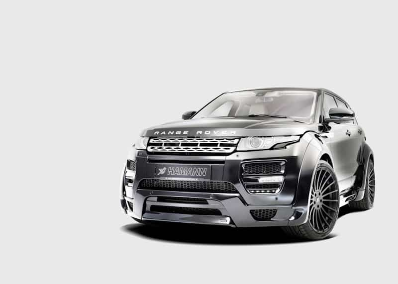 suv tuning range rover evoque by hamann 4x4news home. Black Bedroom Furniture Sets. Home Design Ideas