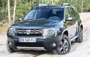 neuer Dacia Duster Front-Foto