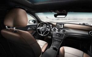 Mercedes GLA_Innenraum