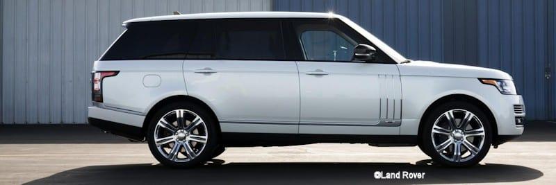 Autobiography Black Range Rover Long wheelbase