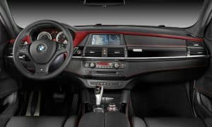 BMW X6 M Design Edition Innenraum