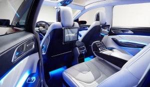 Ford Edge Concept Innenraum Foto