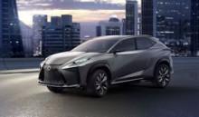 Lexus LF-NX Concept Turbo
