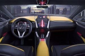 Lexus LF-NX Turbo_Innenraum