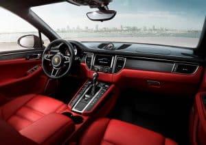 Porsche Macan Turbo Innenraum