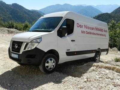 Nissan NV400 4x4 Allrad Umbau