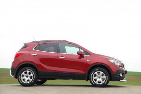 Opel Mokka Zubehör von delta4x4