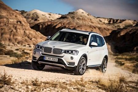 Der neue BMW X3 2014. Foto: BMW