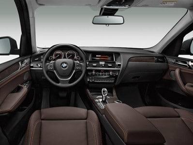 Der neue BMW X3 2014 Innenraum. Foto: BMW