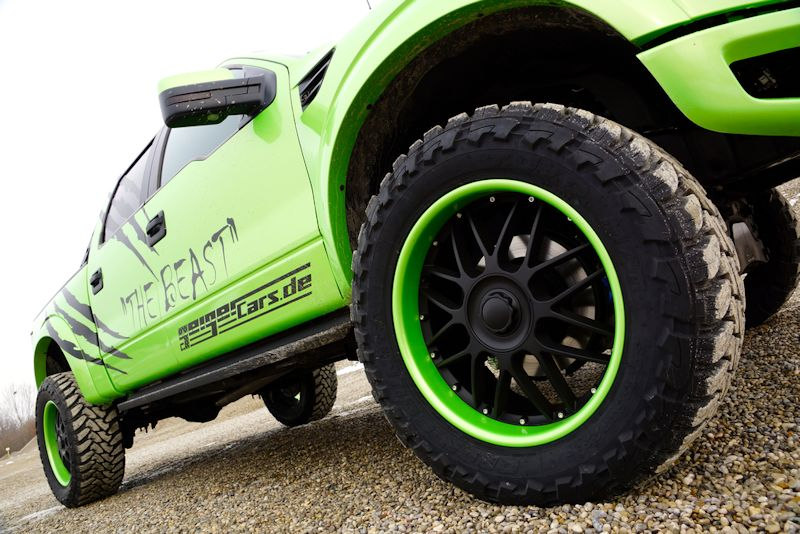 Ford f 150 raptor super crew cab tuning