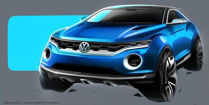 VW T-ROC Konzept SUV