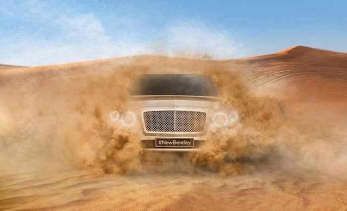Neues Bentley SUV
