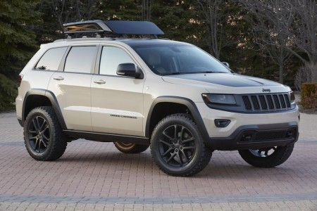 Jeep Grand Cherokee Moab Umbau