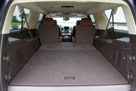 Chevrolet Suburban LTZ Innenraum