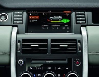 Neuer Land Rover Discovery Sport Innenraum