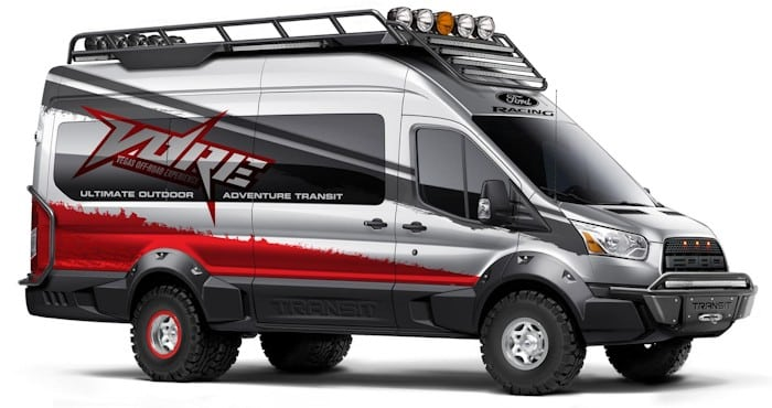 Vegas Off-Road Experience Ford Transit