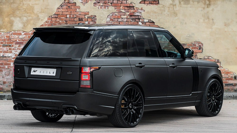 2014 Land Rover Range Rover Autobiography Black Interior 2