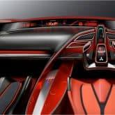 Mitsubishi Concept XR-PHEV Innenraum