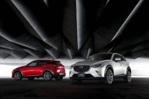 neues Mazda CX-3 SUV 2015
