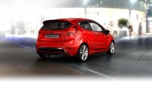 Neuer Ford Fiesta ST Heck