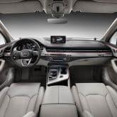 Neuer Audi Q7 2015 Innenraum
