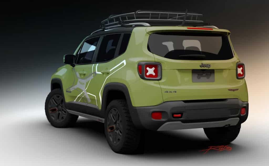 jeep renegade mit mopar off road zubeh r 4x4news home. Black Bedroom Furniture Sets. Home Design Ideas