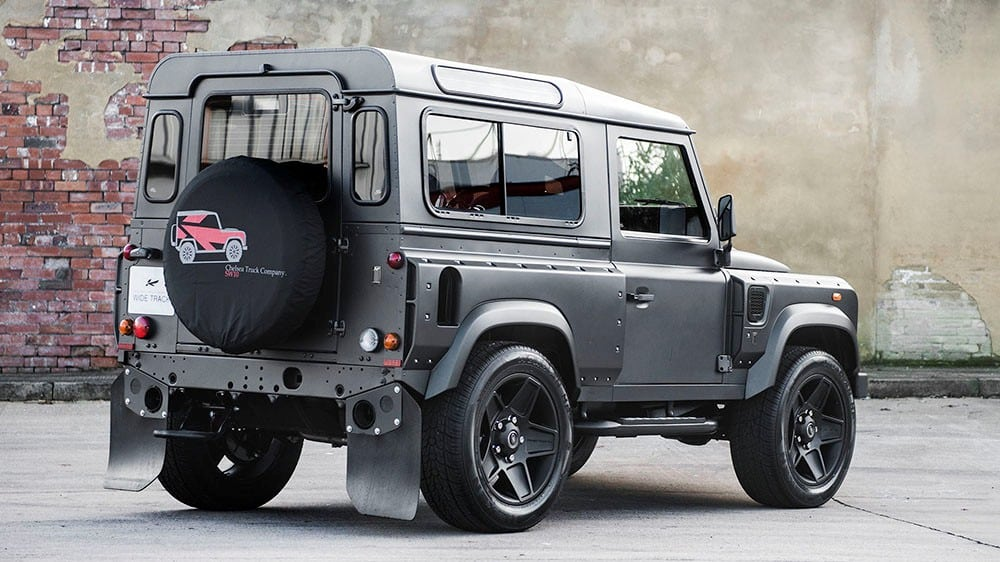 land rover defender tuning vom feinsten 4x4news. Black Bedroom Furniture Sets. Home Design Ideas