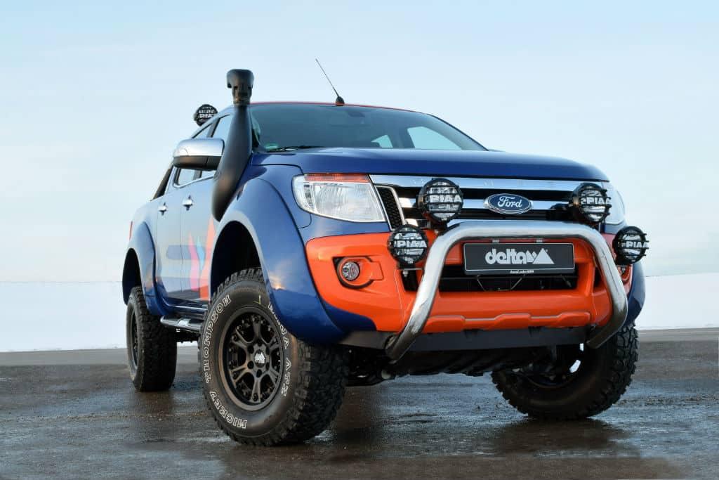 Ford Ranger Hutchinson Beadlock Felge