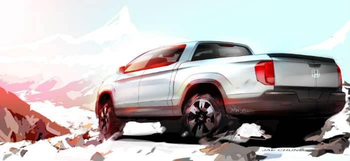 Honda Ridgeline pickup
