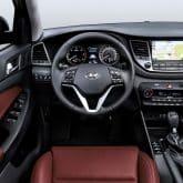 Neuer Hyundai Tucson 2016 Innenraum