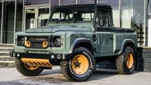 Land Rover Defender Pick Up Umbau